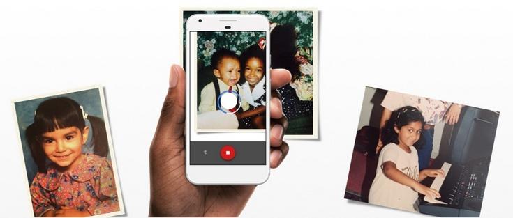 Google PhotoScan позволит быстро оцифровать старые фотографии
