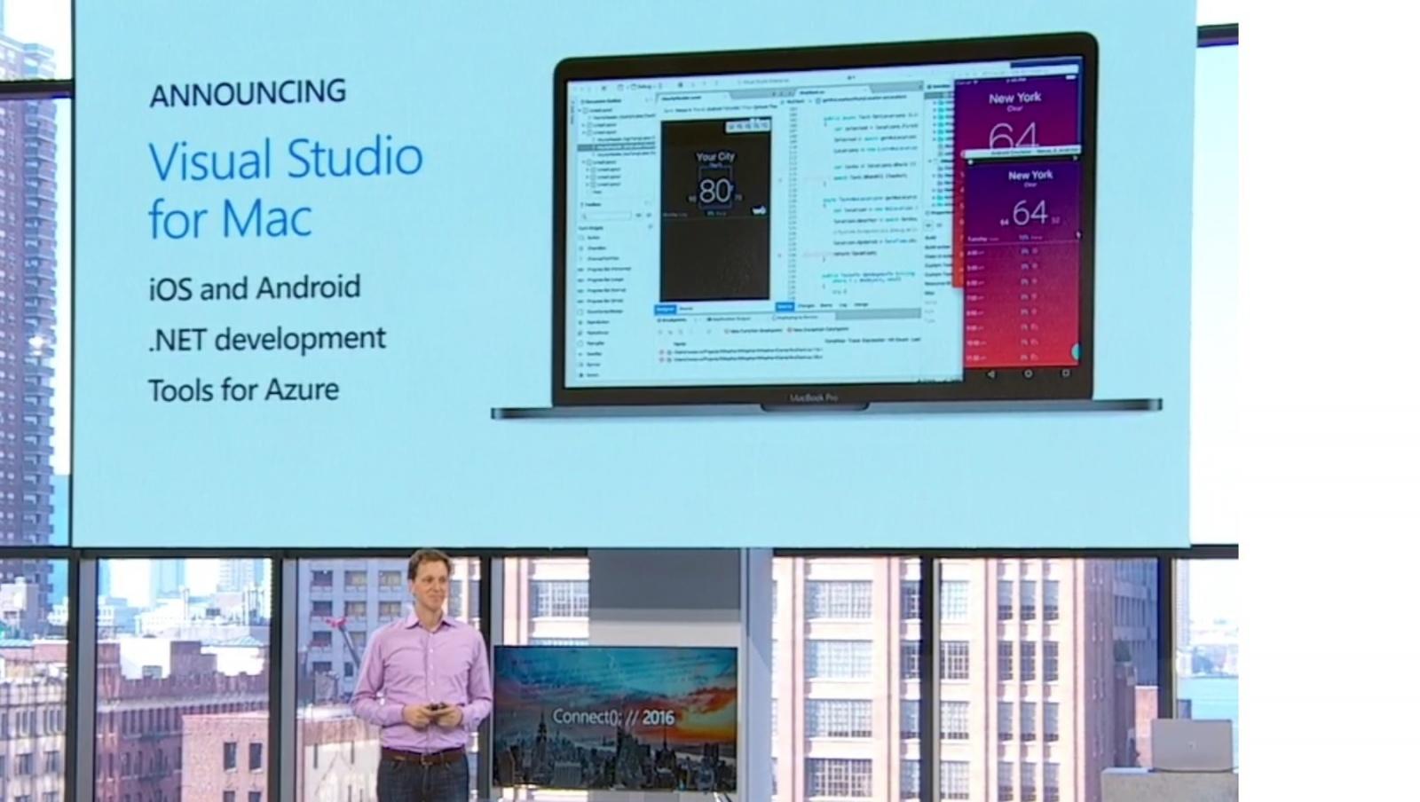 Visual Studio для Mac и другие новости конференции Connect(); --2016 - 3