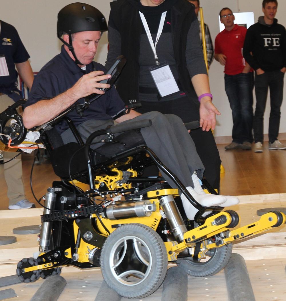 Гонки на инвалидных колясках — фото-видео отчет по Cybathlon 2016 - 15