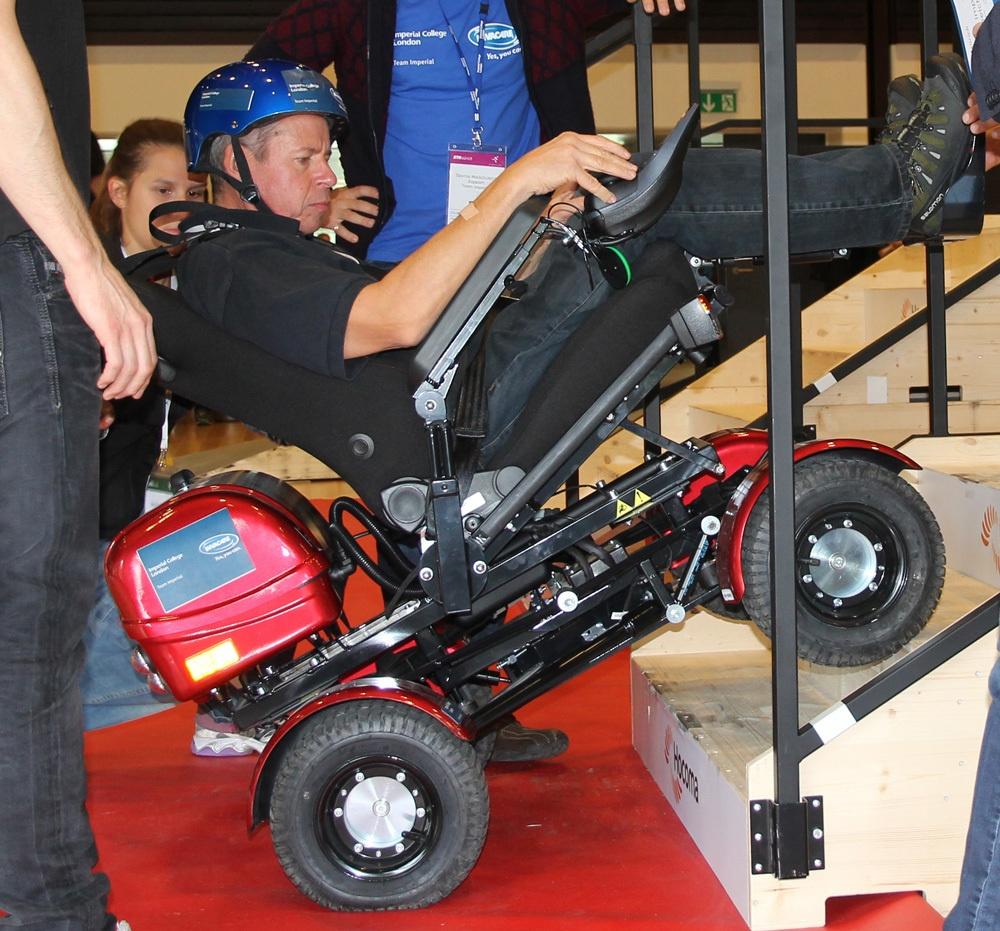Гонки на инвалидных колясках — фото-видео отчет по Cybathlon 2016 - 16