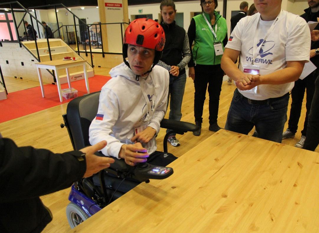 Гонки на инвалидных колясках — фото-видео отчет по Cybathlon 2016 - 3