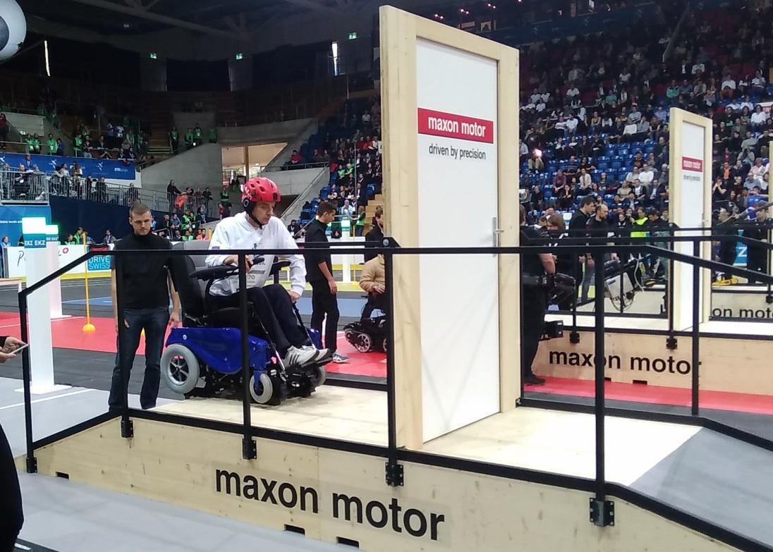 Гонки на инвалидных колясках — фото-видео отчет по Cybathlon 2016 - 5