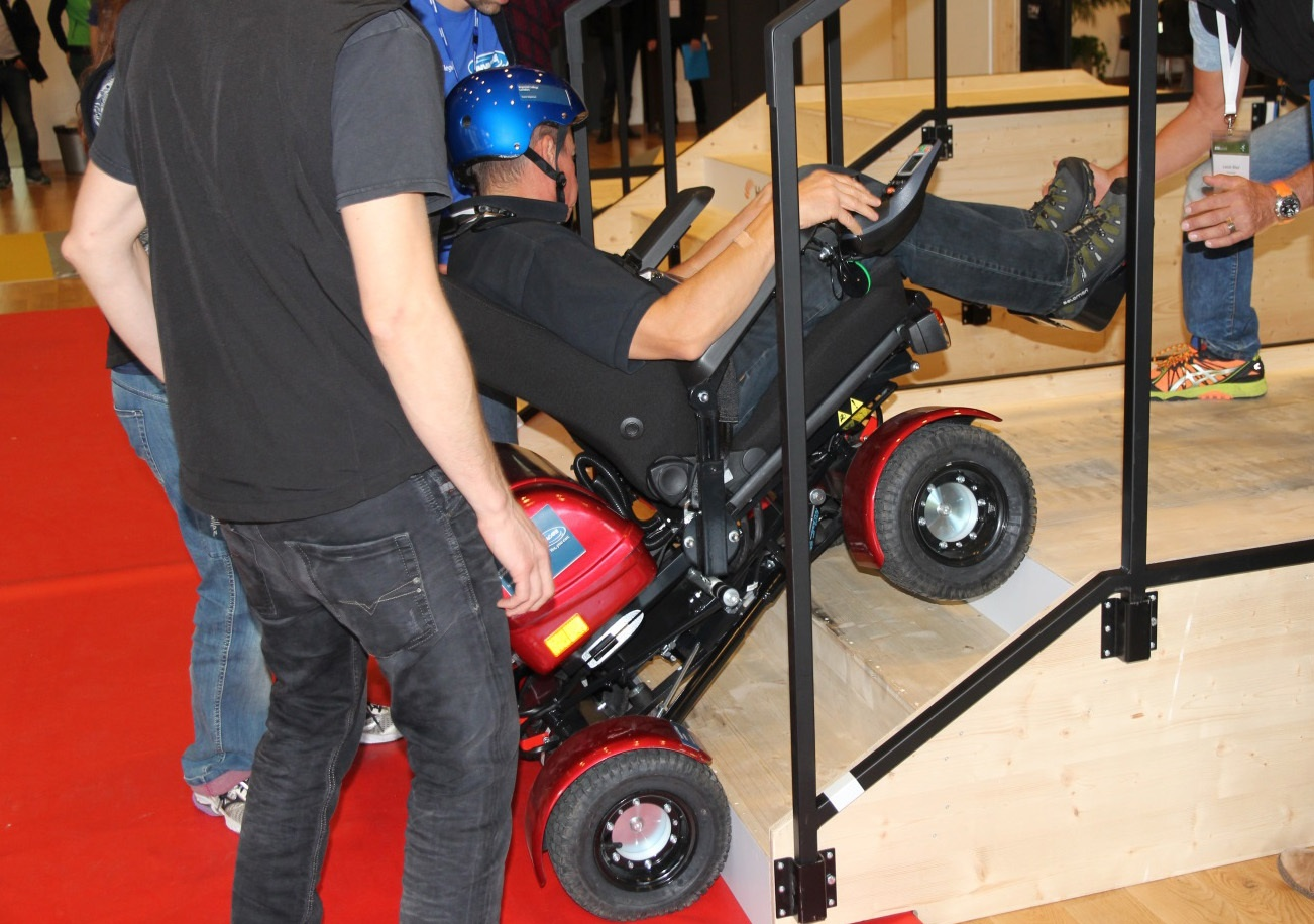 Гонки на инвалидных колясках — фото-видео отчет по Cybathlon 2016 - 8