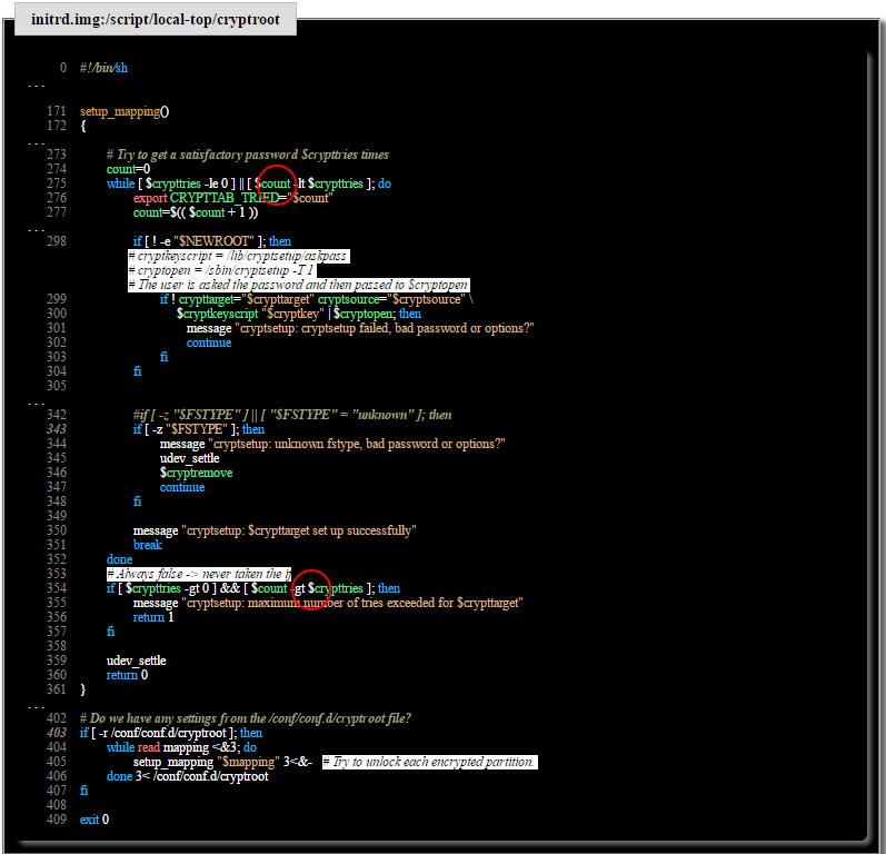 Уязвимость скриптов инициализации Cryptsetup в Debian: достаточно просто зажать Enter - 3