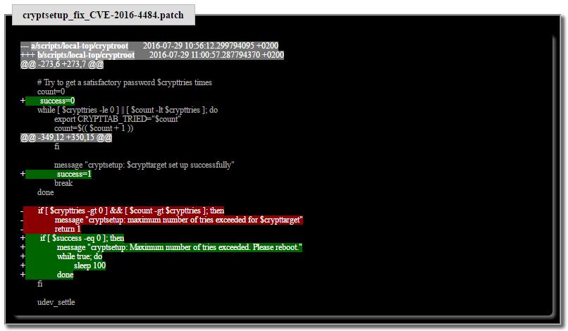 Уязвимость скриптов инициализации Cryptsetup в Debian: достаточно просто зажать Enter - 4