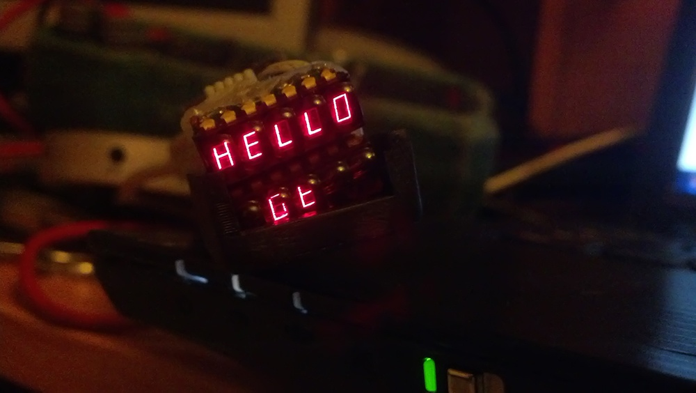 Очки дополненной реальности из старого советского калькулятора - 10
