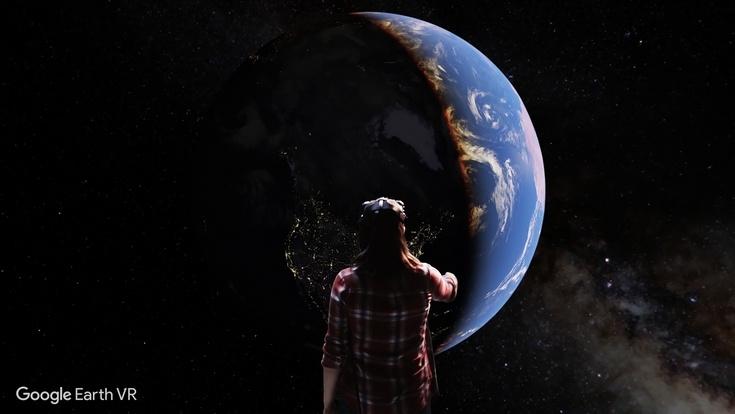 Сервис Google Earth VR доступен только для гарнитуры HTC Vive