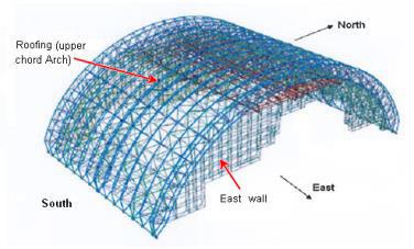 Укрытие-2 надвигают на 4-й энергоблок ЧАЭС - 4