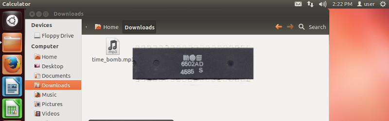 Уязвимость старой Ubuntu через аудиофайл, проигрываемый эмуляцией процессора 1975 года - 1