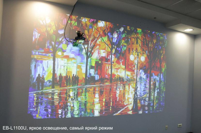 5 мифов о проекторах. Миф №1 – «Проекторы не дают качественного изображения в освещенном помещении» - 4
