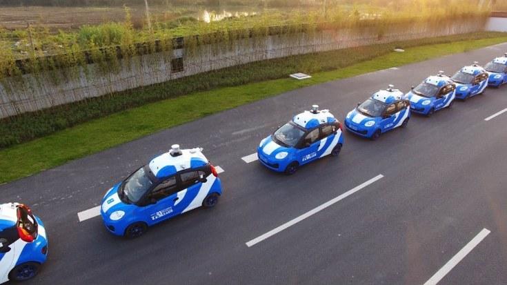 Baidu испытала множество беспилотных автомобилей