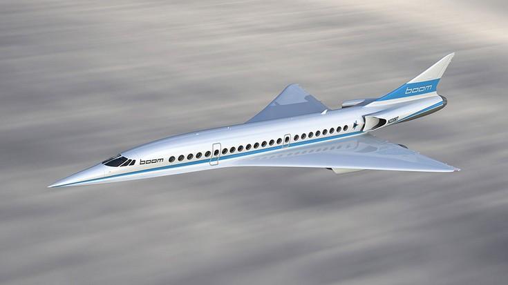 Boom Technology построит сверхзвуковой пассажирский авиалайнер