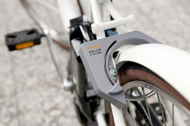 Наличие велосипедов на стоянках можно проверить на сайте сервиса