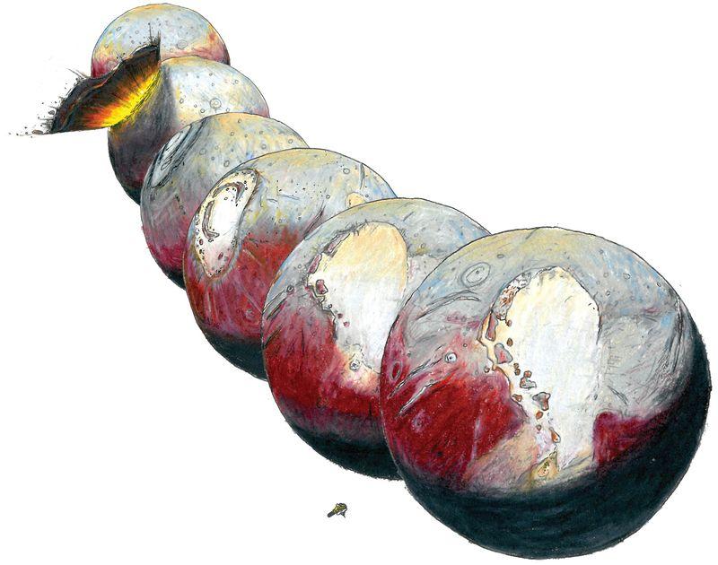 Под «сердцем» Плутона может скрываться океан жидкой воды - 4