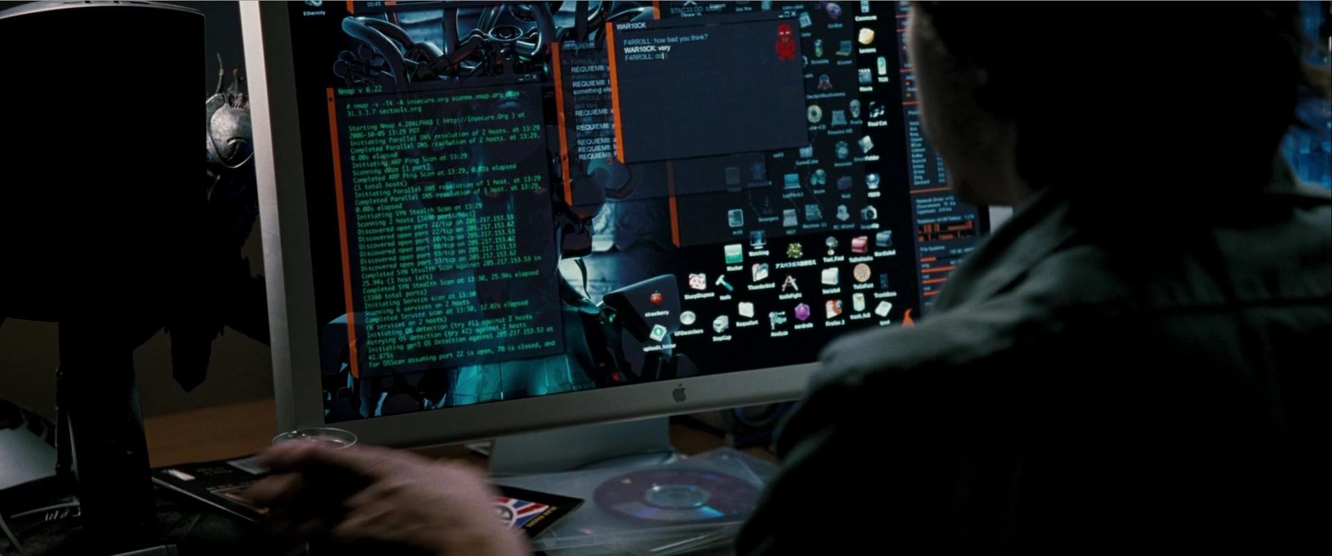 Сканер nmap как главный инструмент кино-хакеров - 16