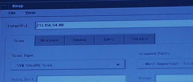 Сканер nmap как главный инструмент кино-хакеров - 20