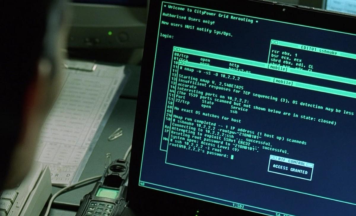 Сканер nmap как главный инструмент кино-хакеров - 3