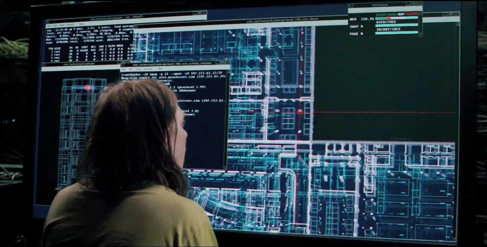 Сканер nmap как главный инструмент кино-хакеров - 6