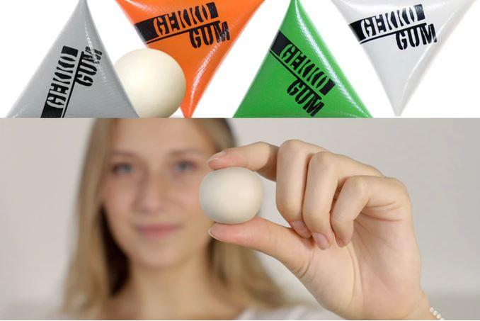 GekkoGum позволяет закреплять электронные устройства на самых разных поверхностях