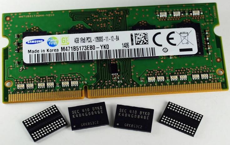 Рынок памяти DRAM вырос, как и цены на продукцию