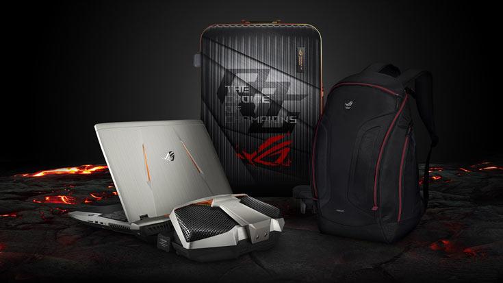 Конфигурация ноутбука Asus ROG GX800 включает процессор Intel Core i7-6820HK