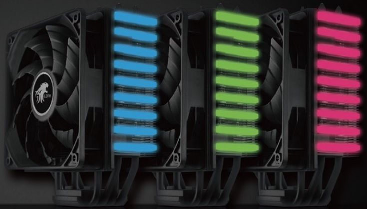 Кулер Lepa NEOllusion получил радиатор с подсветкой