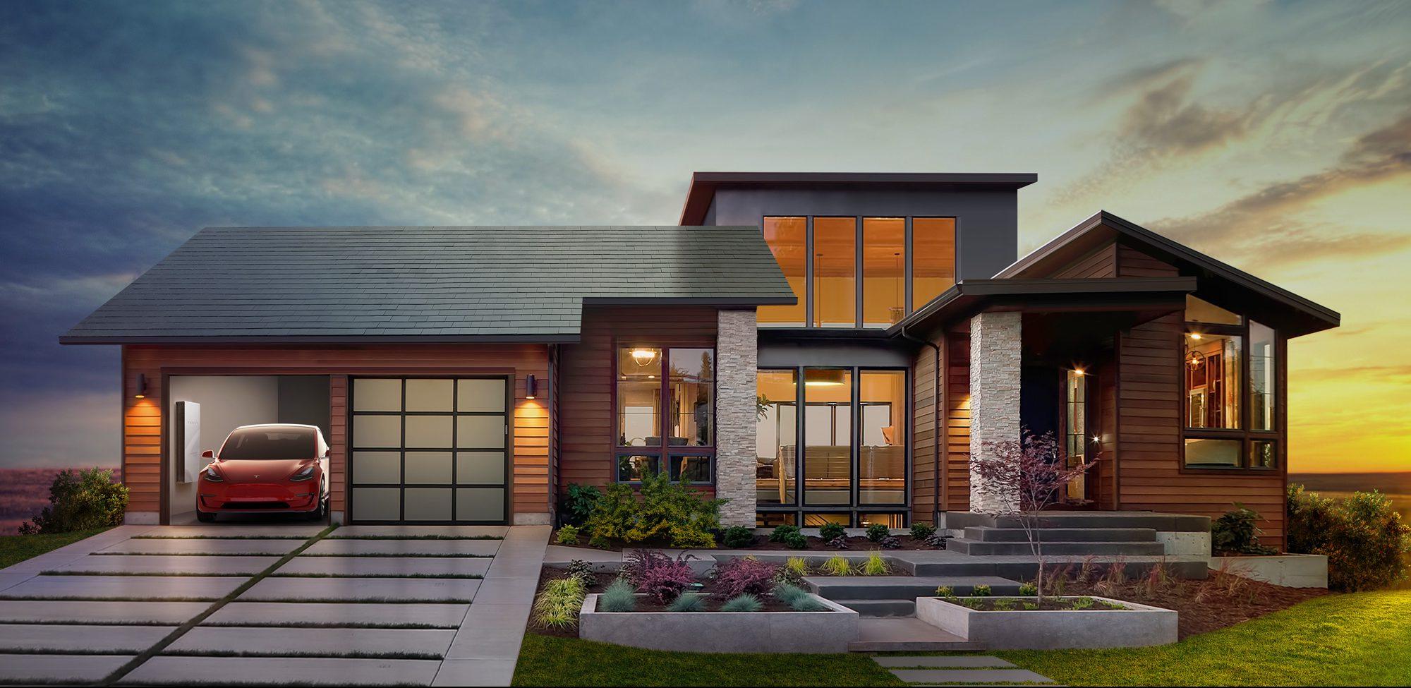 Солнечная крыша Tesla будет дешевле обычной без учёта электрогенерации - 1