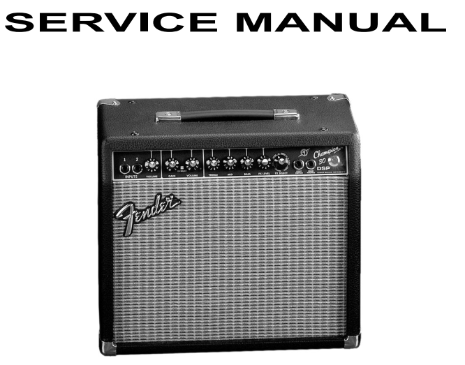 Доработка комбоусилителя Fender Champion 30 DSP - 1