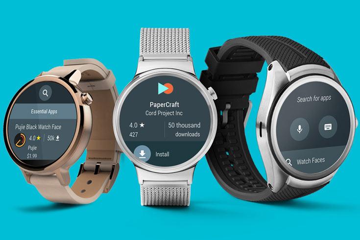Функция tap-to-pay появится в умных часах на платформе Google Android Wear