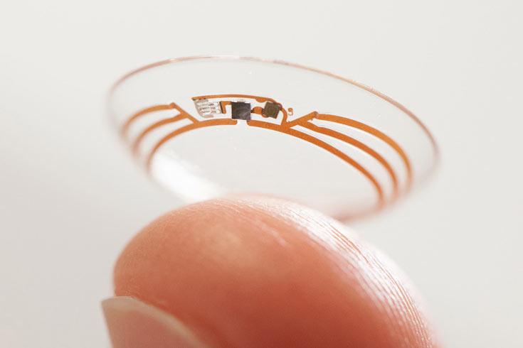 В этом году тестирование контактных линз с автофокусом точное не начнется