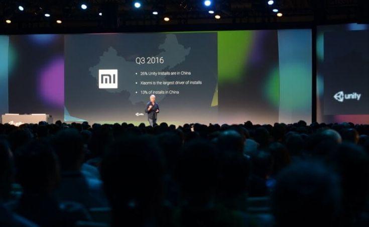 Xiaomi поможет продвигать в Китае движок Unity