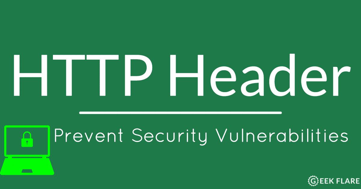 Как использовать HTTP заголовки для предупреждения уязвимостей - 1