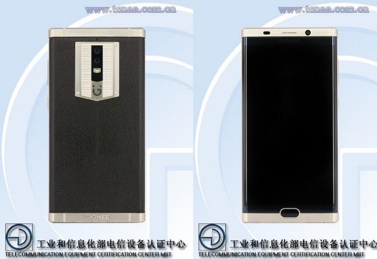 Смартфон Gionee M2017 получит дисплей AMOLED