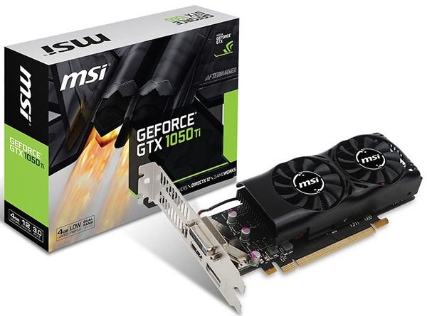 MSI GTX 1050 Ti 4GT LP