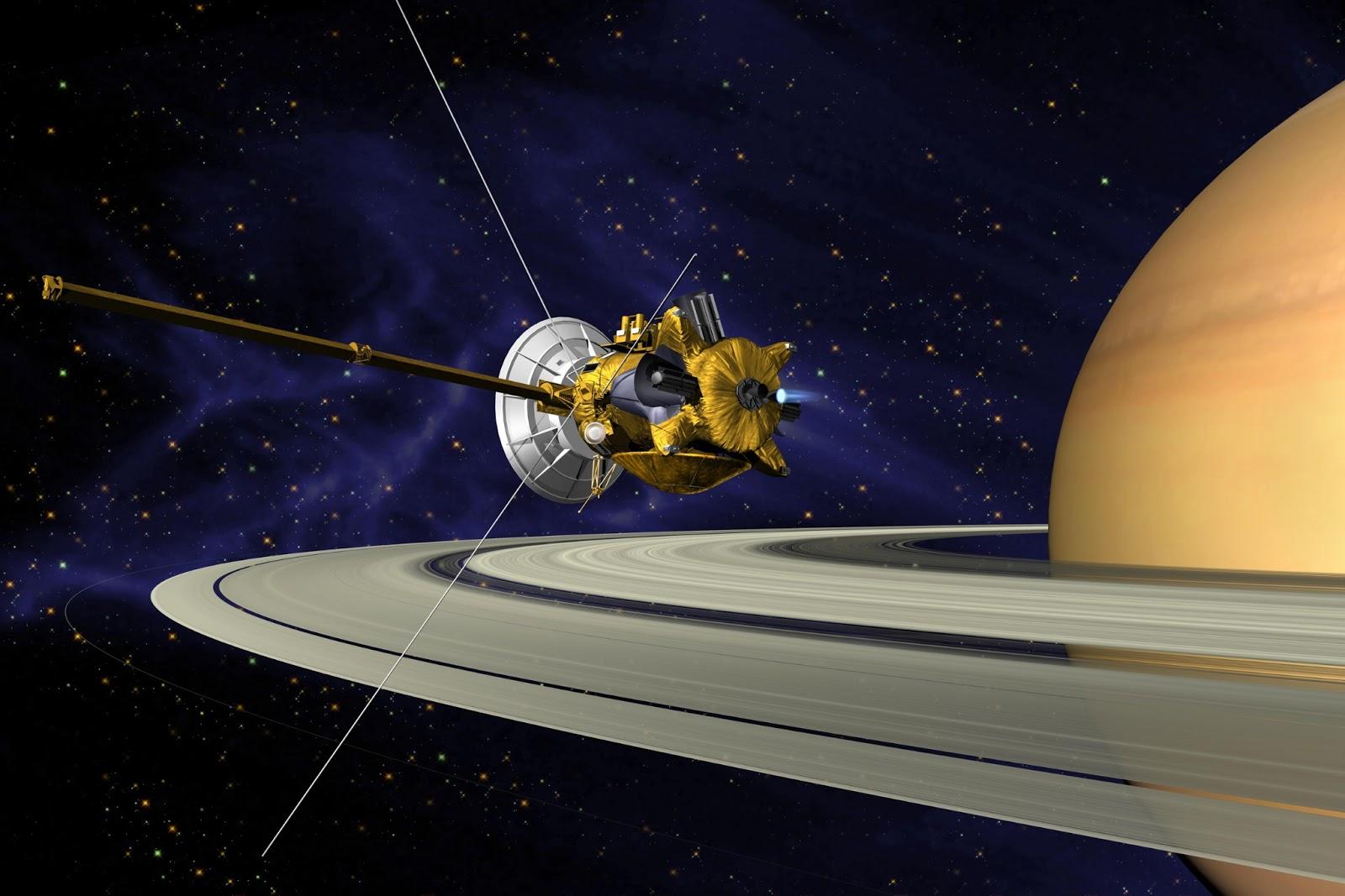Cassini готовится к своей финальной миссии: путешествию в кольца Сатурна со смертельным погружением в атмосферу планеты - 1