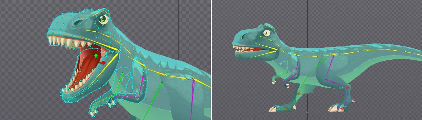 Анимация в Spine, советы и рекомендации, псевдо 3D эффект - 18