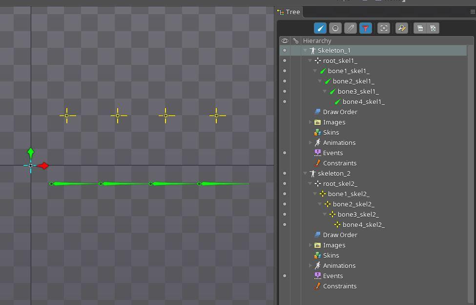 Анимация в Spine, советы и рекомендации, псевдо 3D эффект - 36