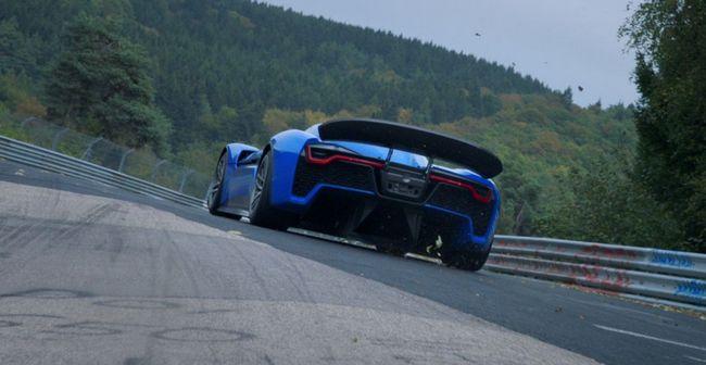 Самый быстрый электромобиль в мире NextEV Nio EP9 разгоняется до 200 км/ч за 7,1 с