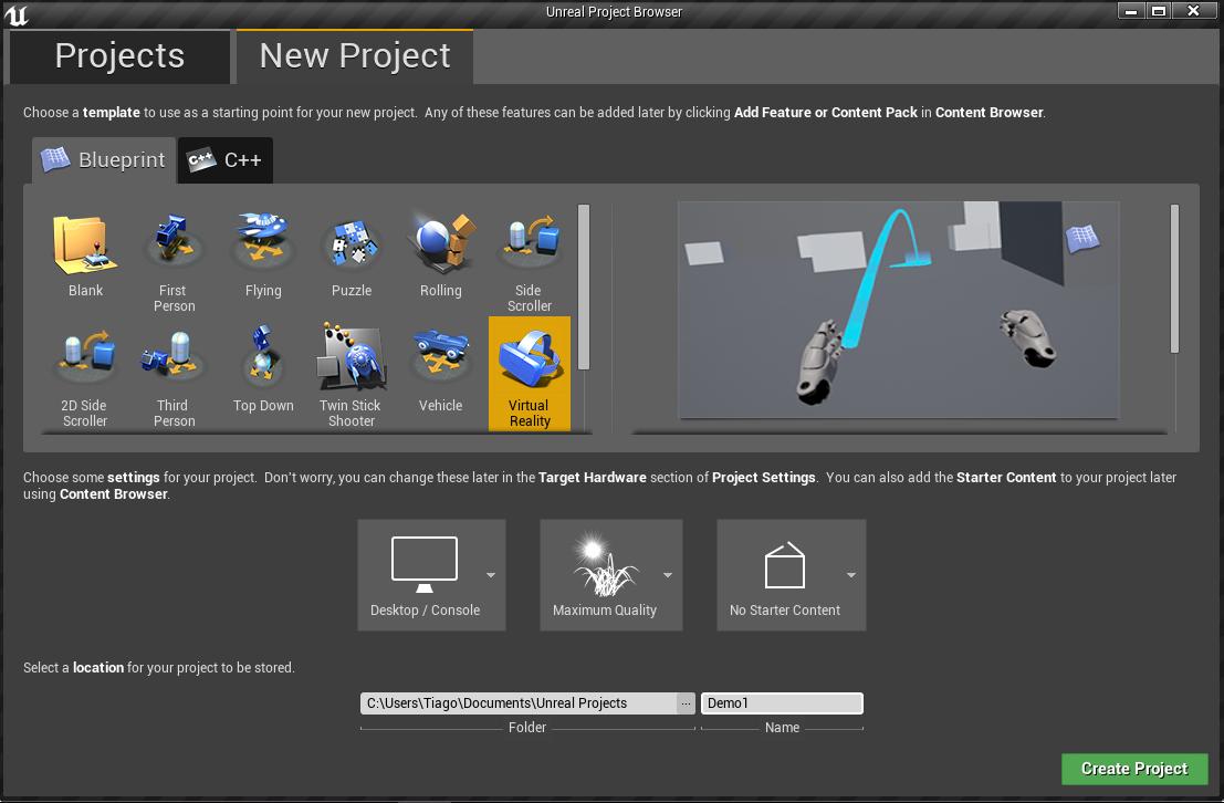 Создаём простейшую VR-демку с Unreal Engine - 2
