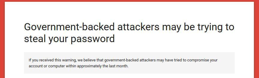 Google предупреждает: спецслужбы охотятся за аккаунтами журналистов и ученых - 1