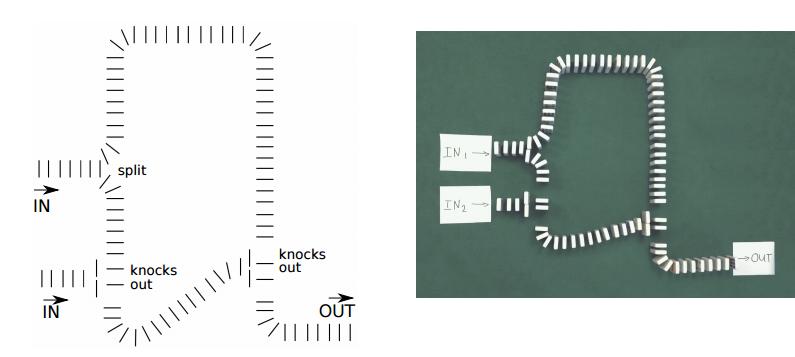 Четырёхбитный калькулятор из картона и шариков - 2