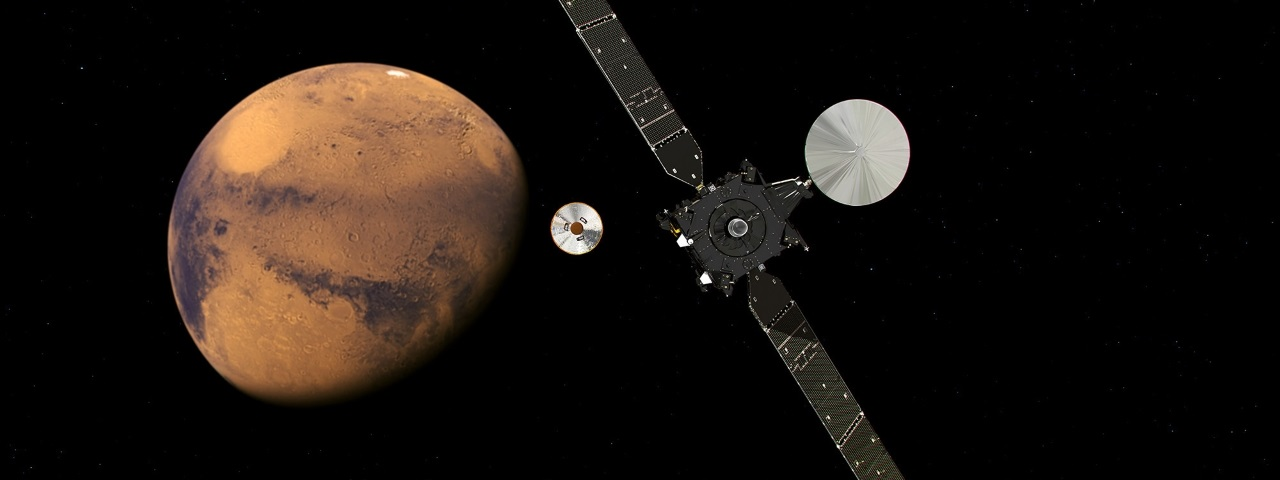 ЕКА: марсианский зонд Schiaparelli разбился из-за неправильного определения высоты при спуске - 1