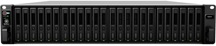 NAS Synology FS3017 получил 24 отсека для SSD