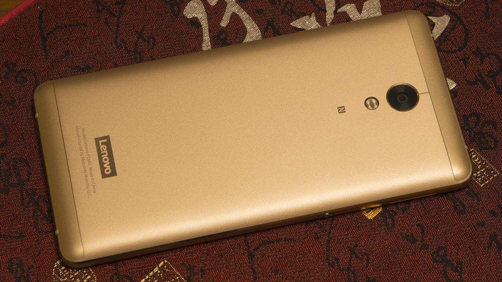 Lenovo P2: 5100 мАч и 3 дня без подзарядки - 2