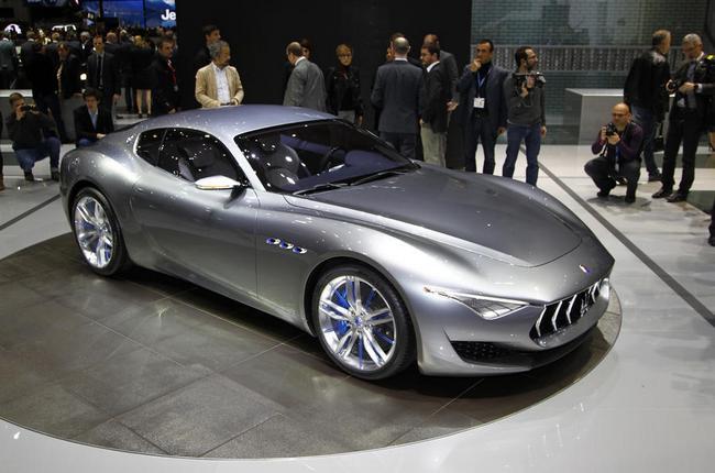 Электромобиль Maserati Alfieri выйдет в 2020 году