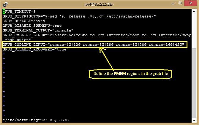 Эмуляция PMEM на серверах Intel - 12