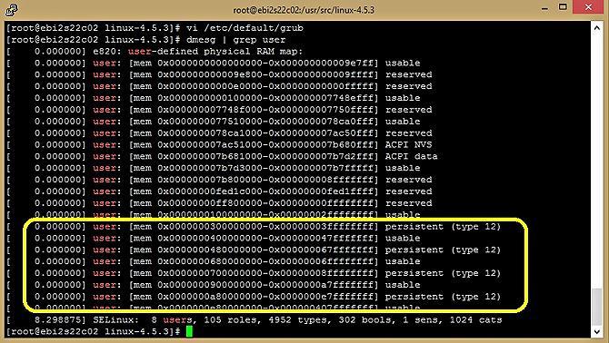 Эмуляция PMEM на серверах Intel - 14