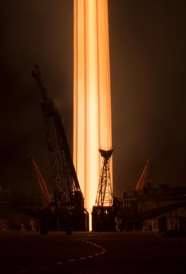 Красота работающей космической техники - 4