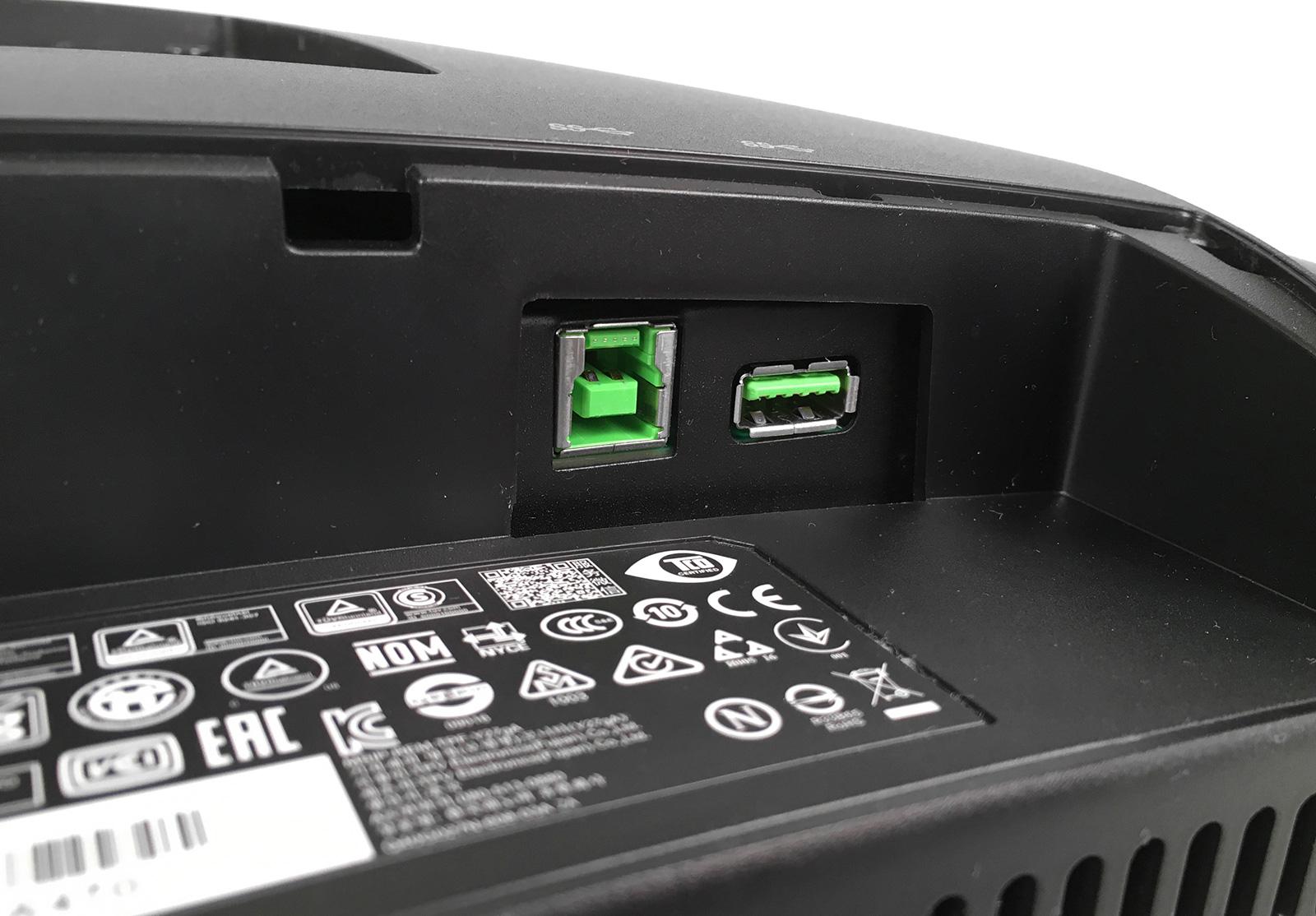 Обзор изогнутого игрового монитора Lenovo Y27g Razer Edition - 13