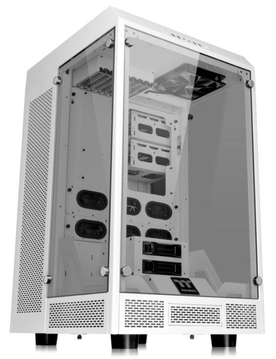 Корпус Thermaltake The Tower 900 выпускается в двух цветовых вариантах